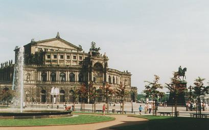 The Semper Opera of Dresden